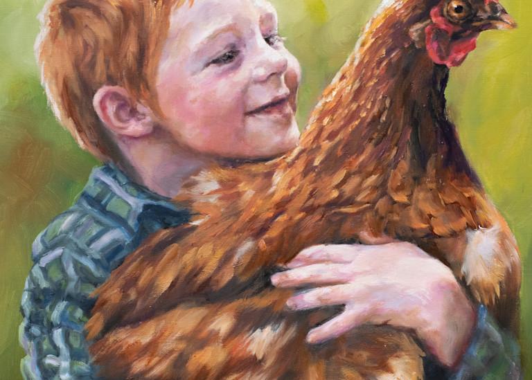 Making A New Friend Art | Ans Taylor Art