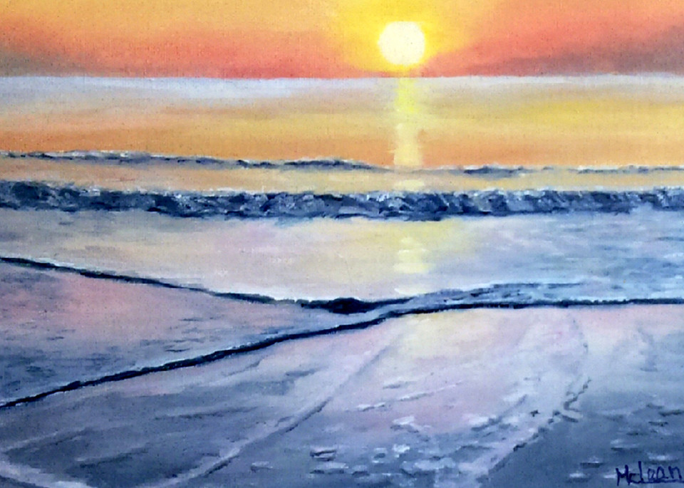 Let The Day Begin, From an Original Oil Painting