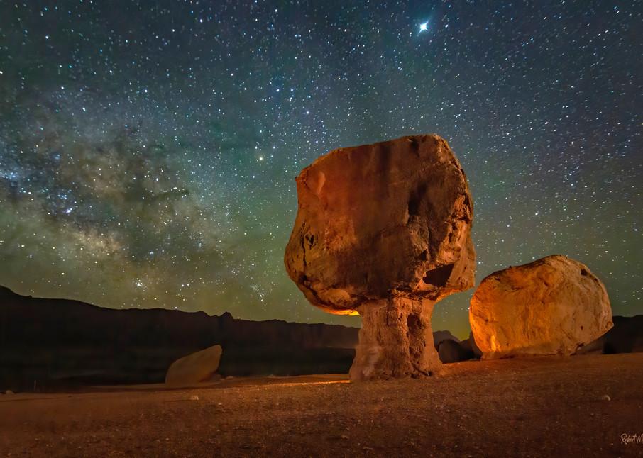 Balanced Rock Of Marble Canyon Photography Art   McKendrick Photography