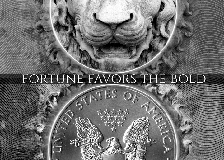 Fortune Favors The Bold Art | Awake Graphics, LLC