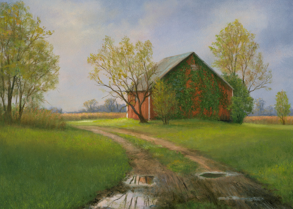 Reflections Of Spring Art | Tarryl Fine Art