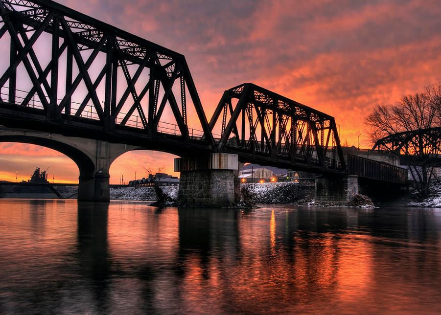 Sunrise on the Lehigh - Michael Sandy Photography