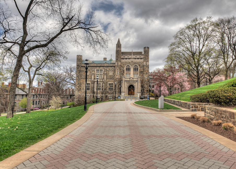 Linderman Library - color - Michael Sandy Photography