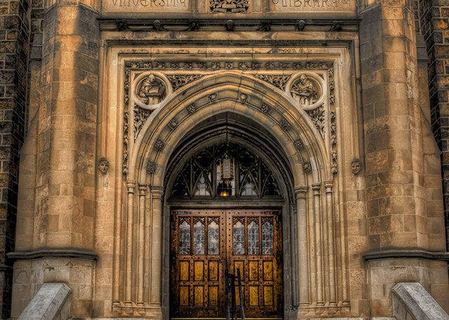 The Doors of Linderman - Lehigh University - Michael Sandy Photography