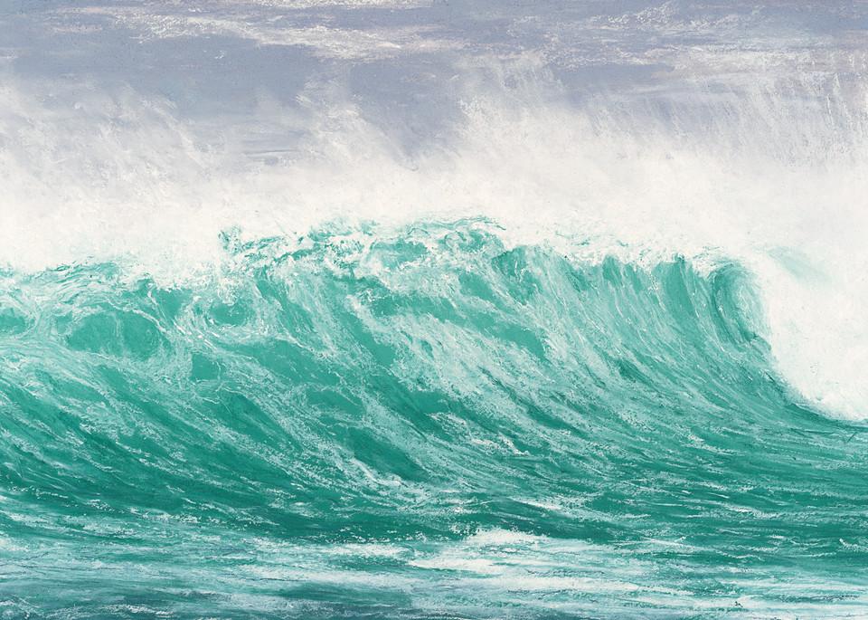 S.Gehring - Oregon Coast Wave Art - Seaside Easter Storm