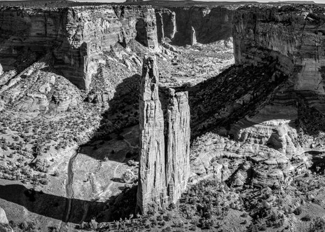 Spider Rock Contrasts Photography Art | Andy Crawford Photography - Fine-art photography