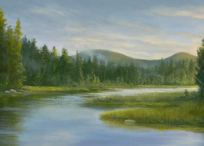 *Sunrise Over Meatchum Pond Art | Tarryl Fine Art