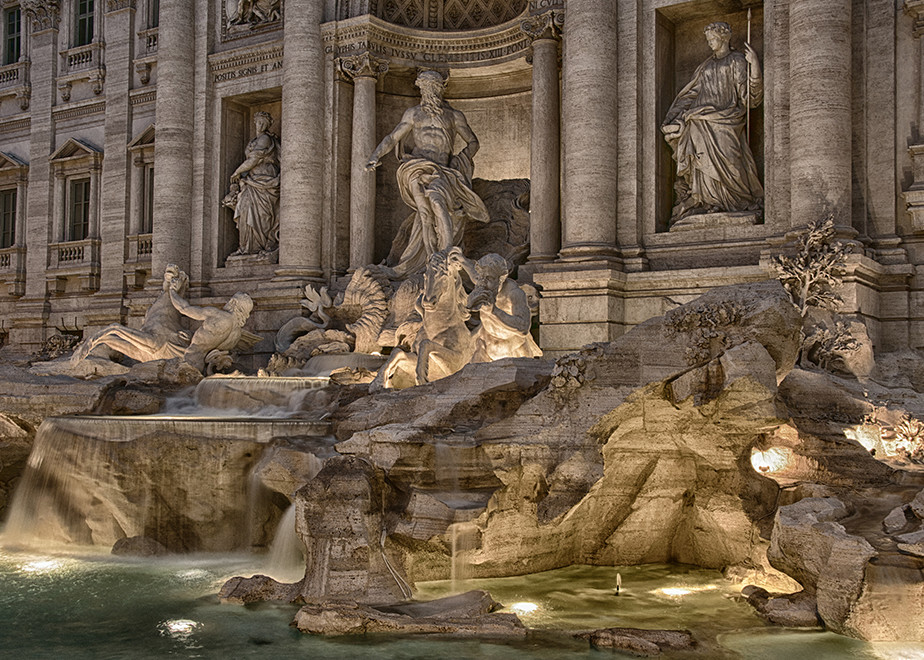 Evening At The Trevi Art | Michael Sandy Photography