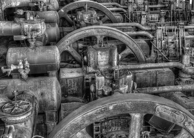 Bethlehem Steel Blower House II - Michael Sandy Photography