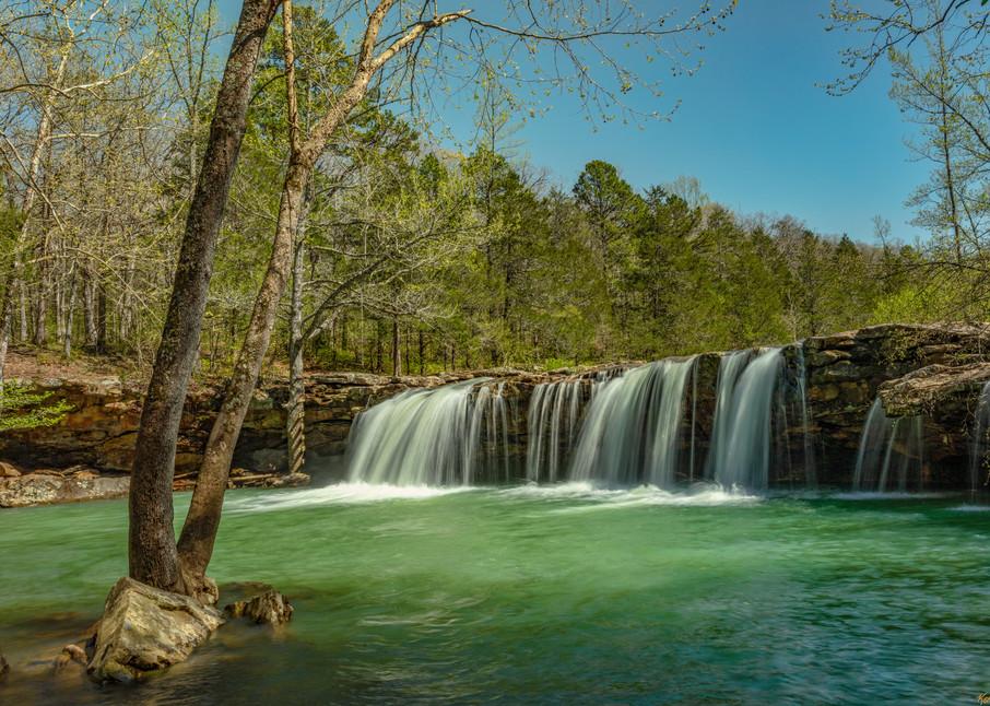 Falling Waters Waterfall 0068 Photography Art | Koral Martin Healthcare Art