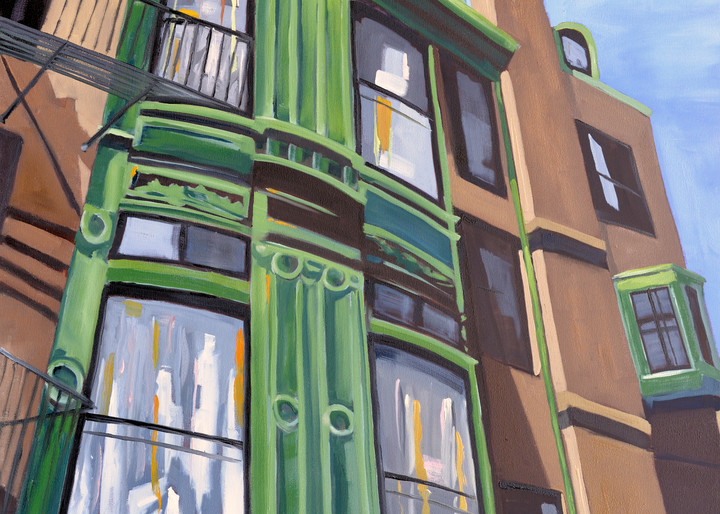 Fairfield Street print by Paul William artist   Fine Art for Sale