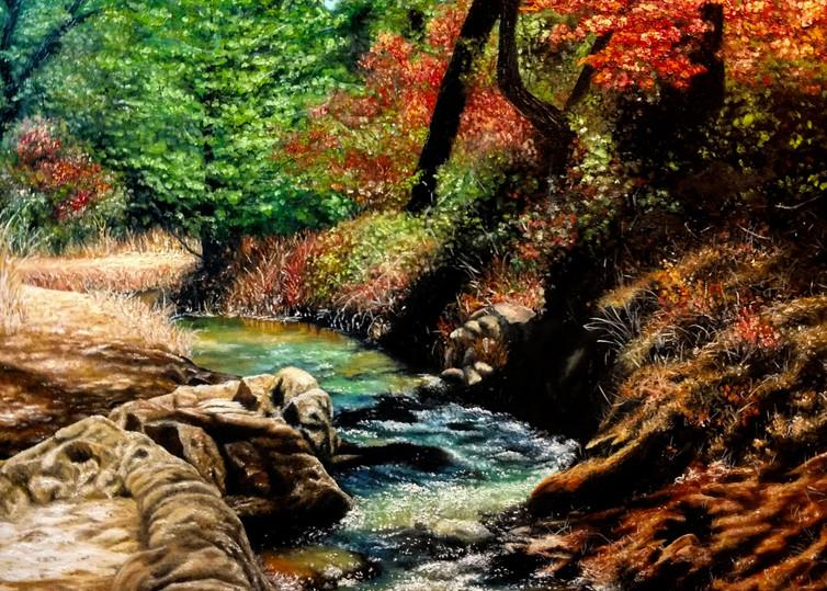 Winding Creek by Ashley Koebrick Schmidt