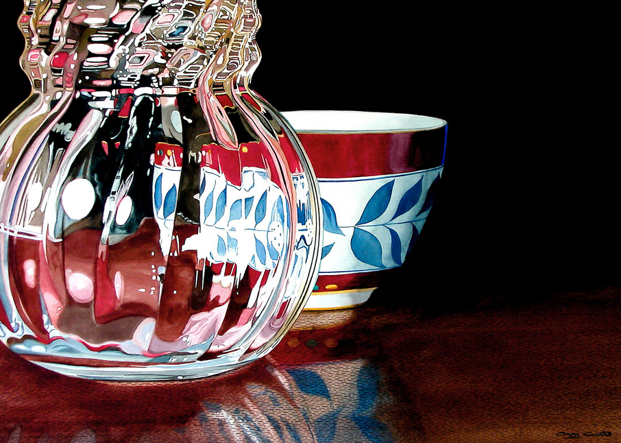 Crystal Refractions Art | Gary Curtis Watercolors
