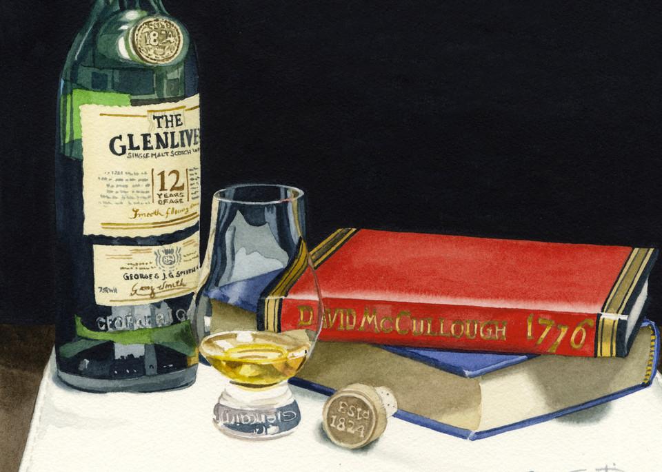 Glenlivet Art | Gary Curtis Watercolors
