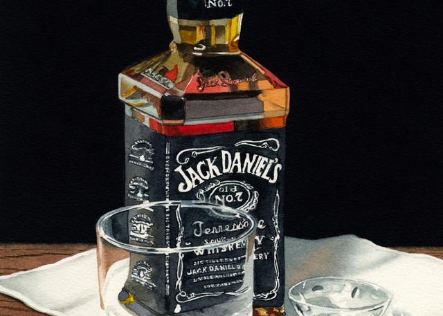 Jack Is Back Art | Gary Curtis Watercolors