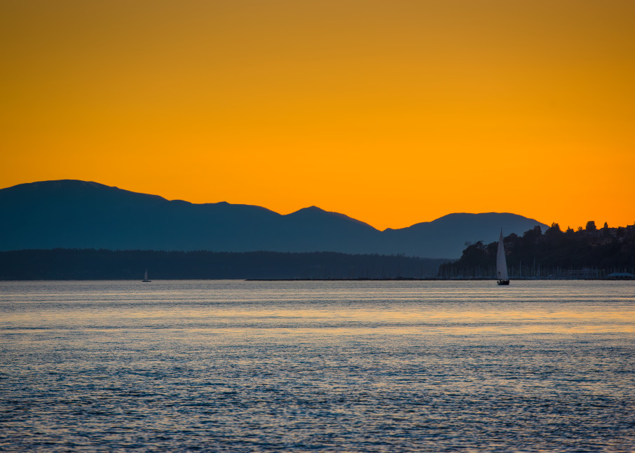 Sailboat, Puget Sound, Washington