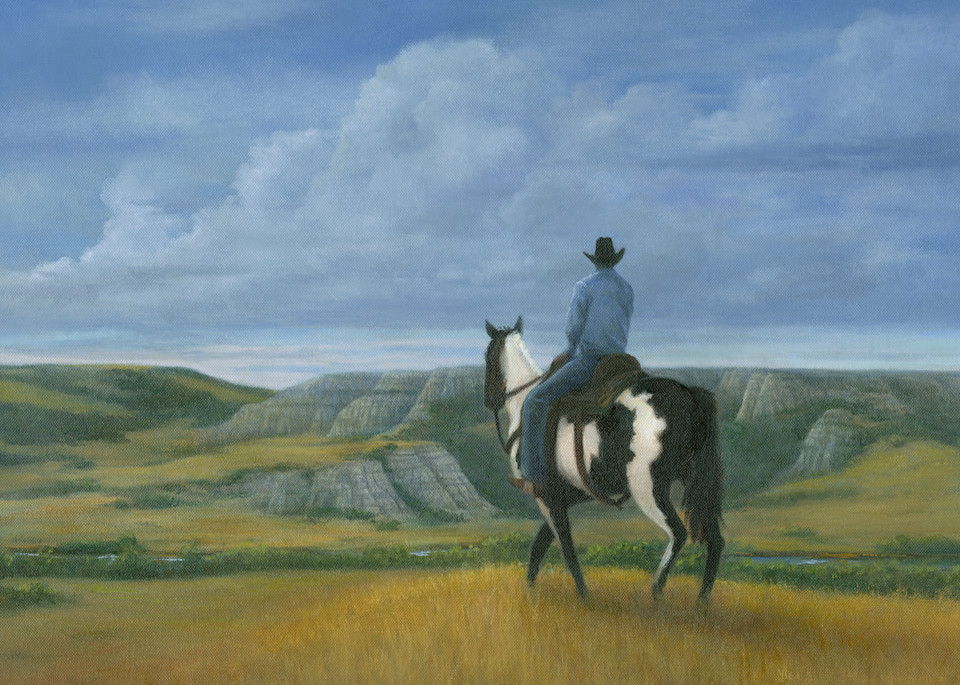 Riding The Ridge Art | Tarryl Fine Art