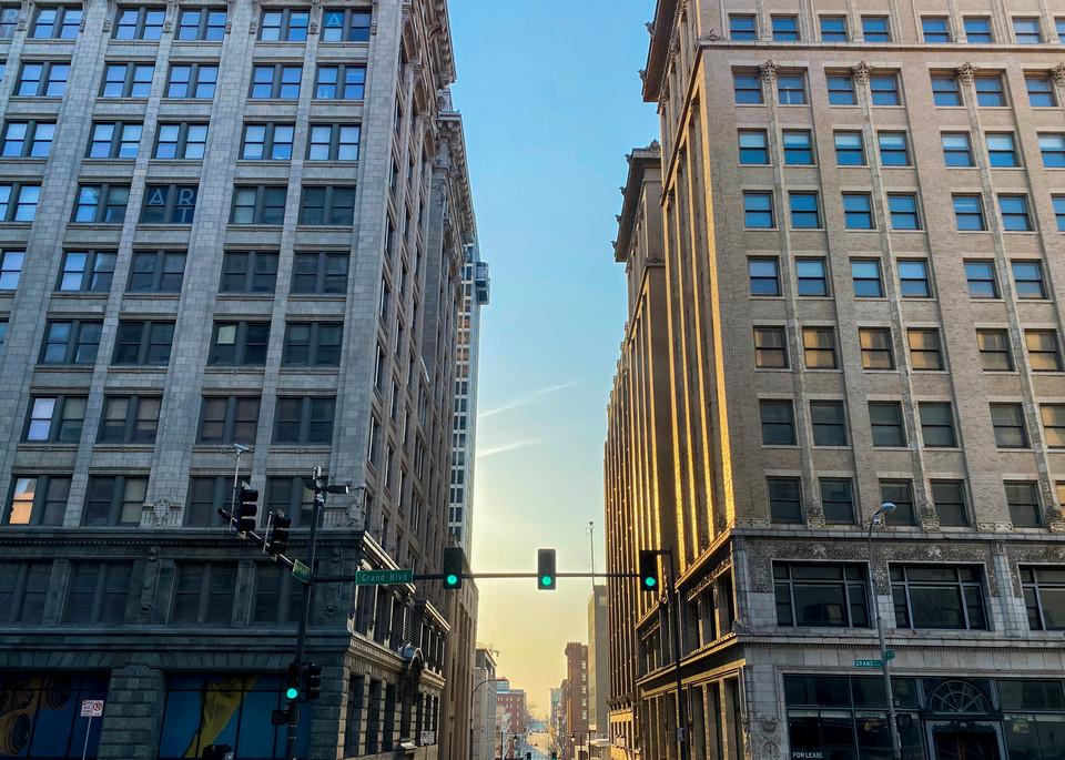 9th Street Sunset Art | John Knell: Art. Photo. Design