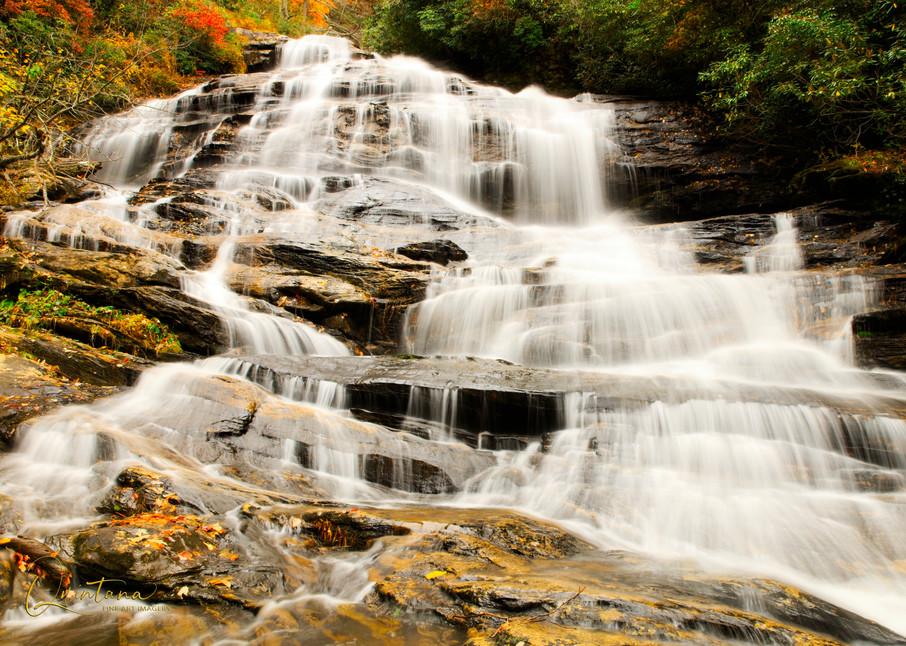 Glenn Falls - A Fine Art Photograph by Marcos R. Quintana