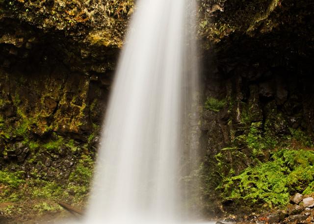 Upper Latourell Falls I - A Fine Art Photograph by Marcos R. Quintana