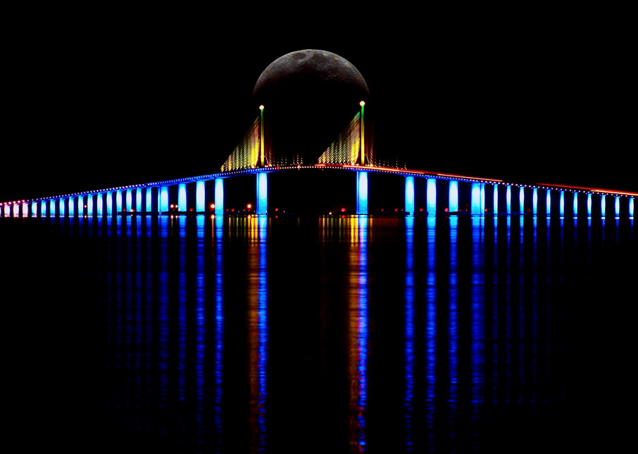 Sunshine Skyway Bridge Photography Art | CJ Harding