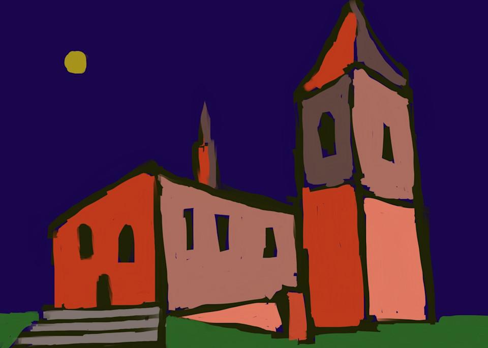Romanesque Tower Art | stephengerstman