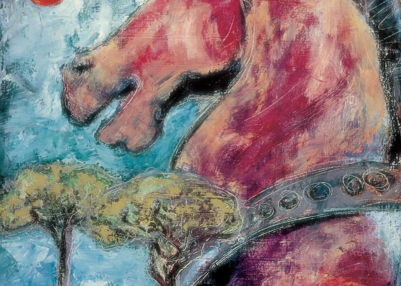 Venetian Horse1 Art | Joan Cox Art