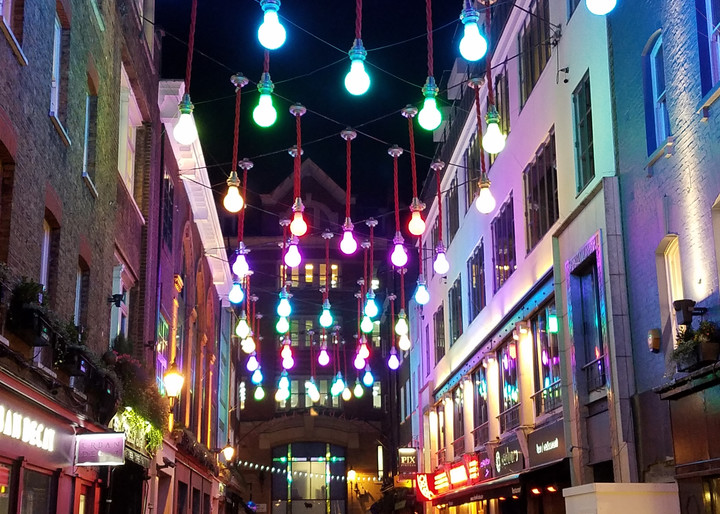Under The Lights At Carnaby Street Photography Art | Photoissimo - Fine Art Photography