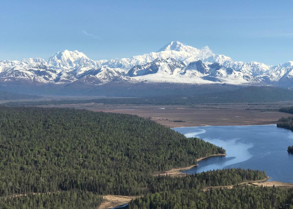Alaska Range Approach Photography Art   Visionary Adventures, LLC