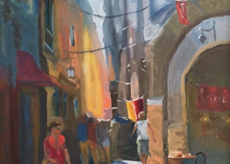 Streets Of Vernazza Art | Scott Dyer Fine Art