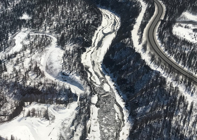 Parallel Curves Of Roads And Rivers Photography Art   Visionary Adventures, LLC