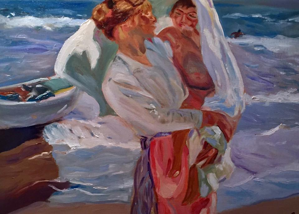 After Bathing Art   Scott Dyer Fine Art