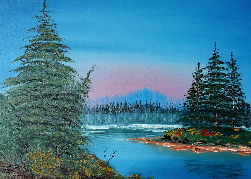 Morning Mist Art | Lynda Moffatt Fine Arts