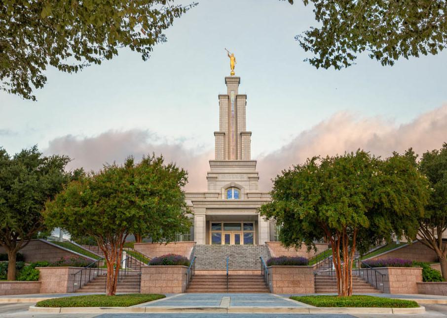 San Antonio Temple - Summer Morning
