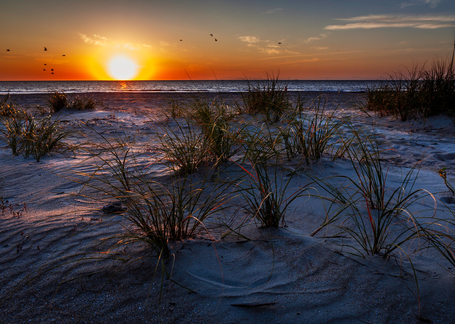 Tybee Beach Sunrise