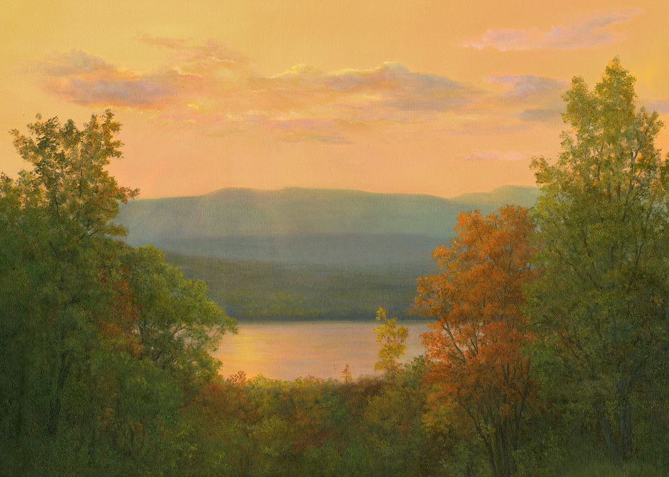 River View To The West From Olana Art | Tarryl Fine Art