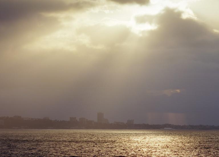 God Light   Santa Monica Bay Photography Art   Julian Whatley Photography