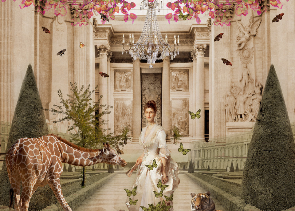 Mrs Henry White In Paradise Art | Sondra Wampler | fine art
