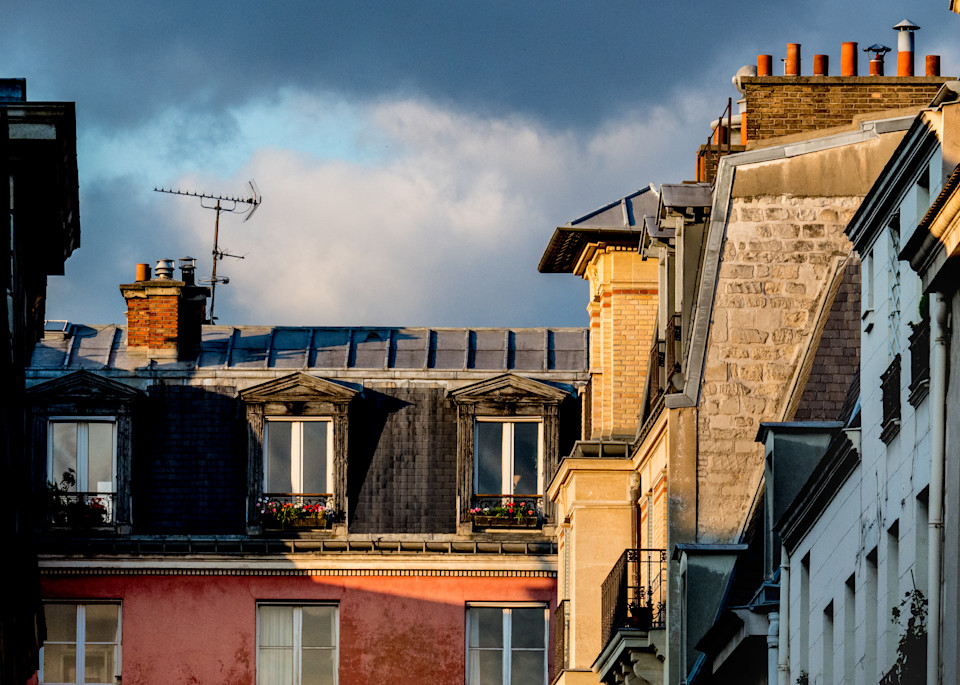 Light On The Rooftops, Paris