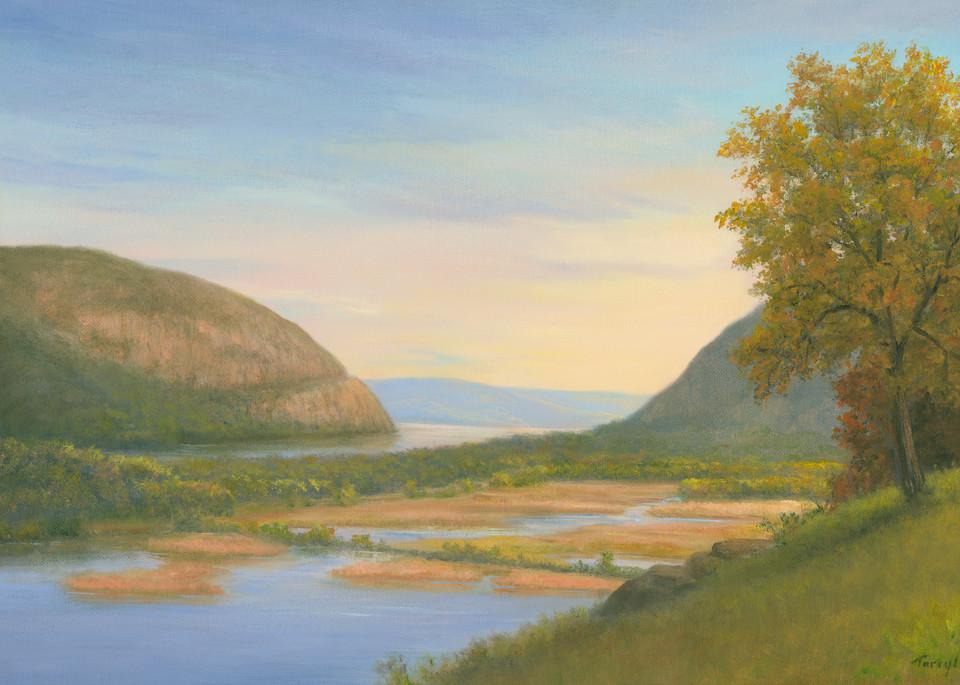 Storm King Mountain And Constitution Marsh Art   Tarryl Fine Art