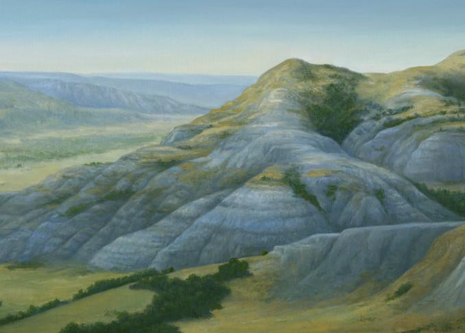 *Badlands Vista Art   Tarryl Fine Art