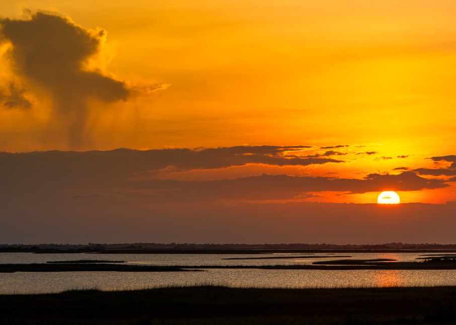 Point aux Chenes Sunset - Louisiana fine-art photography prints