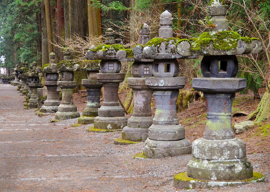 Japanese Stone Lantern in Japan Photograph – Pagoda - Zen Photography - Fine Art Prints on Canvas, Paper, Metal & More