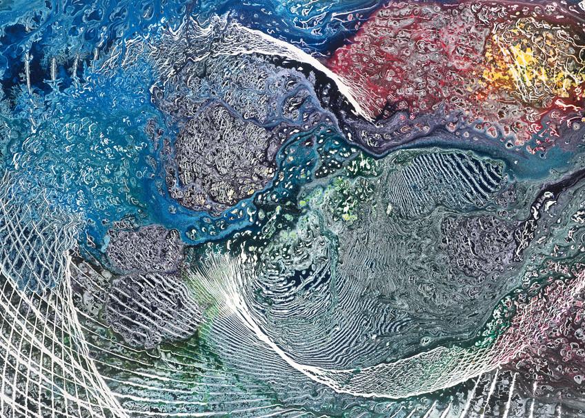 Stellar Genesis Art | Otto Thorsen Art