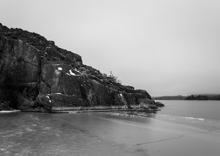 Deep Freeze, Banks Lake, Steamboat Rock State Park, Washington, 2013