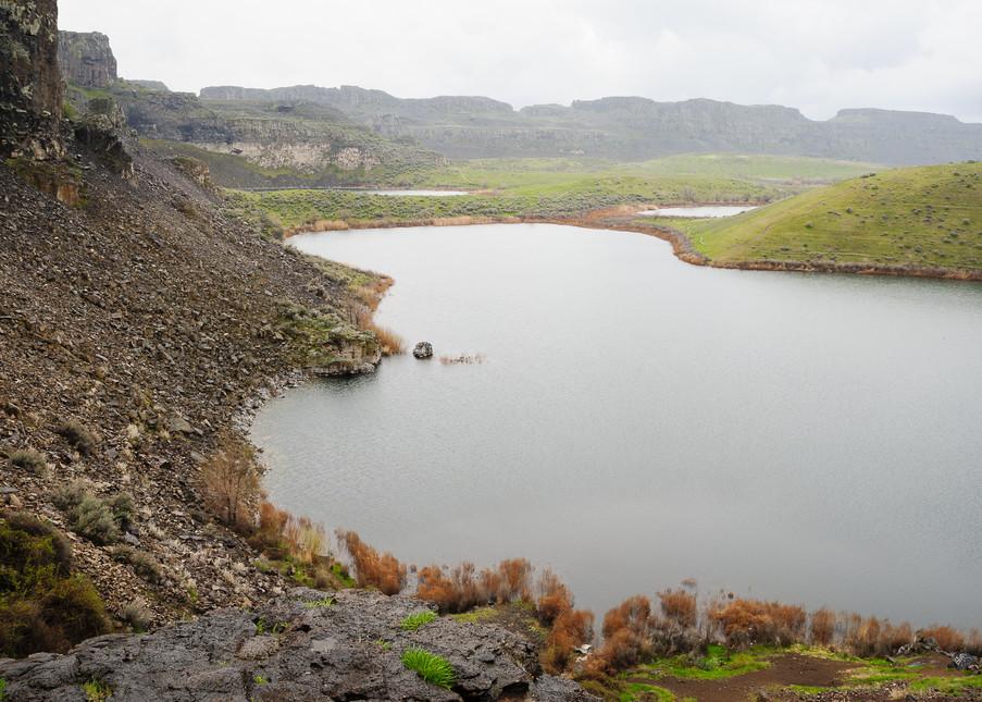 Ancient Lakes, Potholes Coulee, Washington, 2017