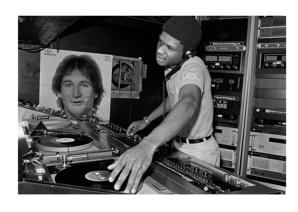 Paradise Garage Dj Larry Levan, 1979 Photography Art | Bill Bernstein Fine Art Collection