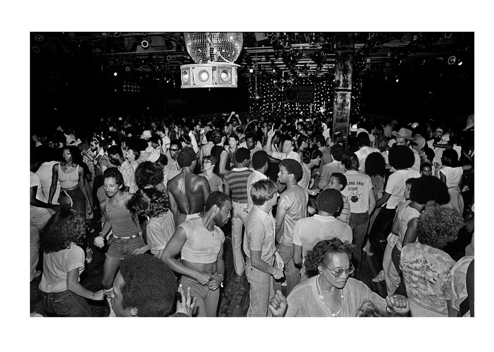 Paradise Garage Dance Floor, 1979 Photography Art   Bill Bernstein Fine Art Collection