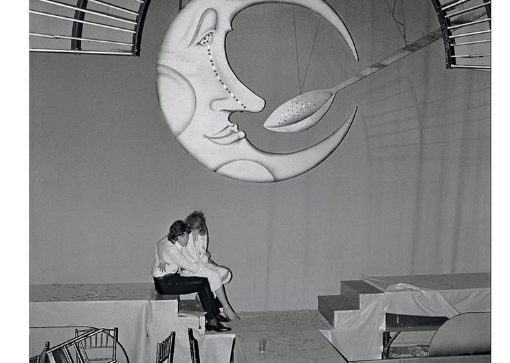 Studio 54, Moon & Spoon, 1977 Photography Art | Bill Bernstein Fine Art Collection