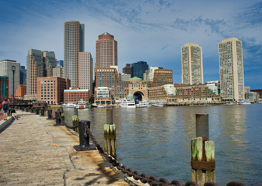 Boston Harbor Photography Art | Paul J Godin Photography